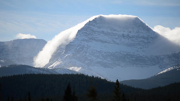 11 2012 Nov 15 Cloud Movement Kananaskis Country