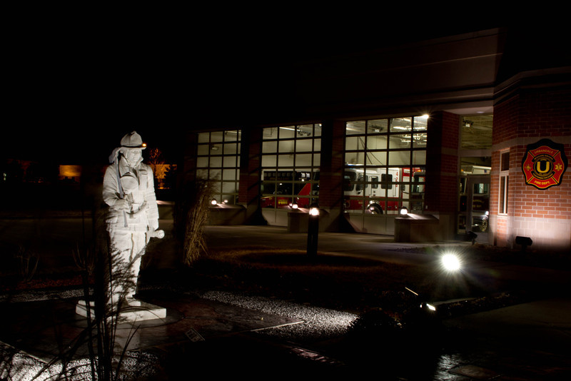 Day 31 - 31 January 2012<br /> A Memorial to Firefighters