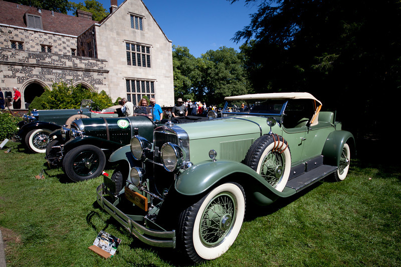Day 252 - 9 September 2012<br /> What a get event to see classic automobiles!   Went to the Salisbury Concours d'Elegance at the Salibury  House today.  More photos in my Salisbury Concours d'Elegance gallery.