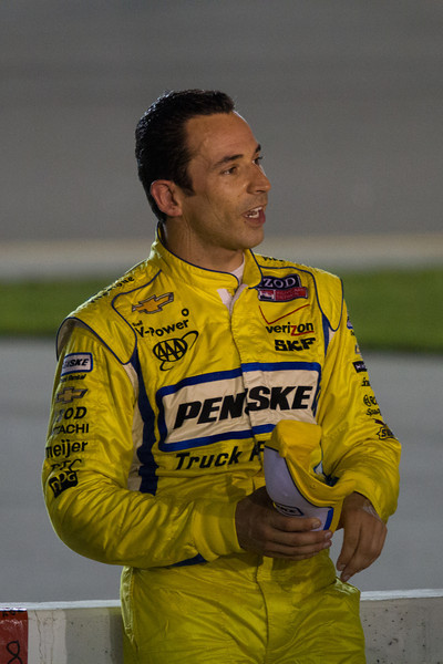 Day 175 - 24 June 2012<br /> Helio Castroneves after the end of the Indy Corn 250 at the Iowa Speedway