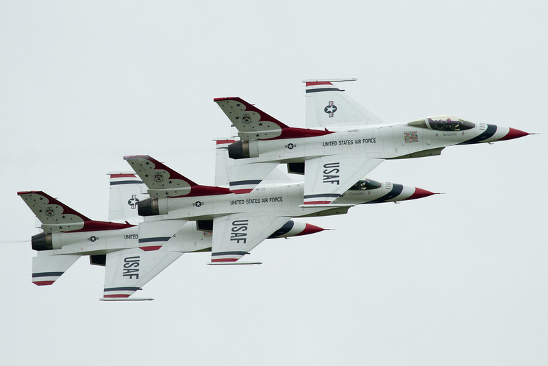 Day 243 - 31 August 2012<br /> The Thunderbirds practice for their upcoming weekend show for the Quad City 2012 Show