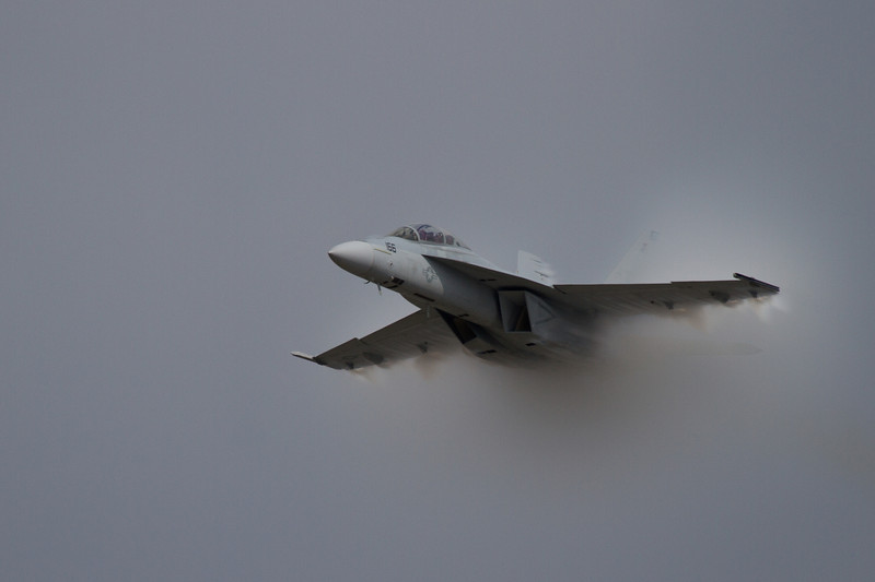Day 239 - 26 August 2012<br /> I feel the need, the need for speed.  An F-18 Super Hornet makes a high speed pass at the Defenders of Freedom Air Show at Offutt Air Force Base.