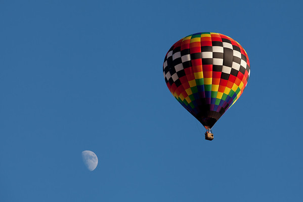 Day 209 - 27 July 2012 Take me to the moon in your hot air balloon.
