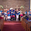 Children's Choir on Sunday, December 16, 2012 at Christ the King Lutheran Church in Newtown, Connecticut.