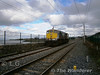 076 is pictured at Howth while testing all the signalling routes at the station. Mon 09.04.12. <br /> <br /> Please Note: Picture taken by an authorised IE employee involved in the testing.