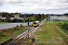 2722 + 2719 approach the home signal at Clonmel with the 1355 Limerick Jct - Waterford. Sat 07.04.12