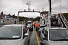 On board the Passage East - Ballyhack Ferry across the River Suir. Sun 08.04.12