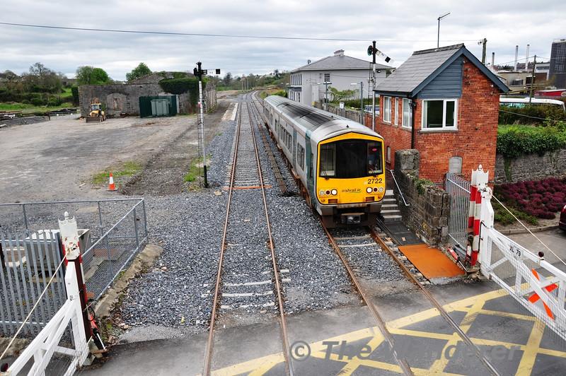 2722 + 2719 depart Tipperary. 1355 Limerick Jct - Waterford. Sat 07.04.12