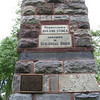 24 June 2012 by Christine Chesley<br /> This is the geology obelisk located behind the Deike and Electrical Engineering buildings. The next picture shows what the plaque reads