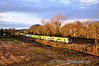 The 1438 Pearse - Maynooth formed of 29006 + 29014 at Collinstown between Leixlip and Maynooth. Sat 15.12.12