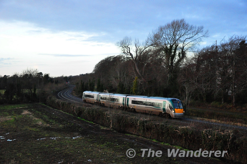 22059 at Collinstown with the 1300 Sligo - Connolly. Sat 15.12.12