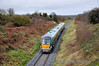 22003 passes Maddam's Hill Bridge with the 1315 Tralee - Mallow. Sat 08.12.12