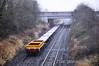 The single spoil wagon brings up the rear of the 1210 Limerick - Portlaoise Per-Way Yard wagon transfer. Tues 04.12.12