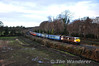 083 brings the 1520 Maynooth - Pearse RPSI Santa Special pass Collinstown. Sat 15.12.12