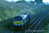 (8)208 at Balbriggan while being hauled from Belfast York Road to Connolly. Sat 15.12.12