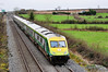 4002 passes Ratheven, near Portlaoise with the 0930 Cork - Heuston. Mon 13.02.12