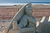 Sand Sculpture at Hampton Beach