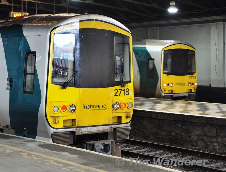 2718 and 2723 await their next duties at Limerick. Sat 28.01.12