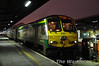 226 prepares for its 165 miles journey to Cork with the 1800 express from Dublin Heuston. Tues 31.01.12