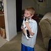 Aidan holding Babycat AKA Dorothy