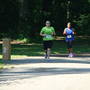 Almost to the finish!  That lady was ahead of me for a good part of the race, but I ended up finishing before her.