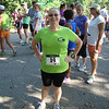 I had my bib pinned on and was ready to run in the Abby's Race for  Hope 5k.  I got a PR in that race, 33:11. June 9th