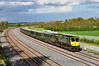 227 1800 Heuston - Cork is pictured on the Down Fast Line at Stacumny Bridge. Tues 15.05.12
