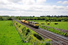 071 passes Rosskelton with the last leg of the 0836 Ennis - Limerick Weedspray Train. Note the loco isn't displaying the Warning Panels as the train didn't spray the Ballybrophy - Portlaoise section. Wed 23.05.12
