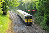 2819 + 2820 arrive at Roscrea with the 1705 Limerick - Ballbrophy service. Fri 25.05.12
