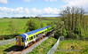 2724 + 2726 pass Gortnahown on the outskirts of Athenry with the 1415 Limerick - Galway. Sat 12.05.12