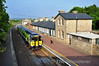 2816 + 2815 arrive at Roscrea with the 1820 Ballybrophy - Limerick. Fri 25.05.12