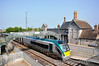 22038 arrives at Portarlington with the 0735 Galway - Heuston. Fri 25.05.12