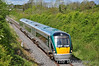 22054 is pictured at Killomenaghan Bridge  near the 74 & 3/4 MP with the 1105 Galway - Heuston. Sat 12.05.12