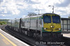 The 1000 Heuston - Cork with 219 at the helm passes Portarlington. Sat 12.05.12