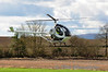 Helicopter N899OF arrives at Limetree. Sun 18.03.12