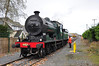 461 poses by Coniberry Level Crossing while shunting in the yard at Portlaoise. It is believed to be the first time a steam locomotive has visited this section of track since 1975 when 186 took a railtour to Coolnamona Works. Wed 07.11.12