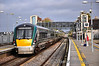 22003 + 22004 + 22030 pass through Portlaoise Station with the 1343 Laois Depot - Heuston transfer. Tues 06.11.12