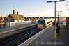 22023 + 22019 arrive at Portarlington with the 0730 Heuston - Westport. Sat 03.11.12