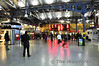 Passengers mill around the concourse at Heuston waiting for their departure platform to be displayed. Thurs 08.11.12