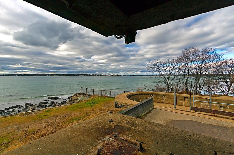 Atlantic Ocean from Fort Foster
