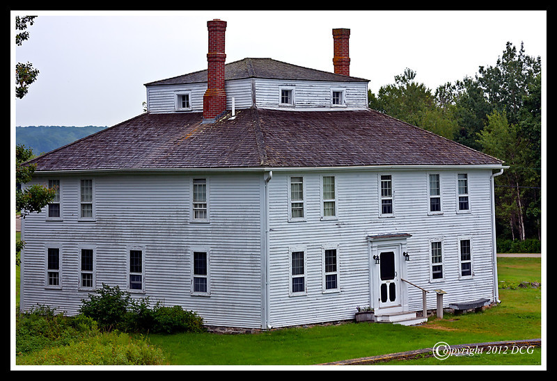 Fort House at Colonial Pemaquid State Historic Site