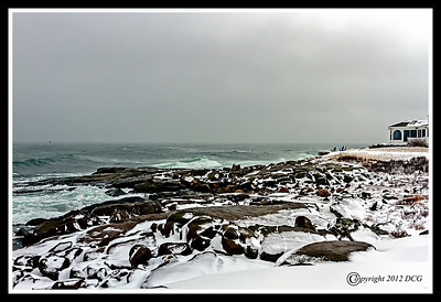 Atlantic Ocean at Cape Neddick York Maine