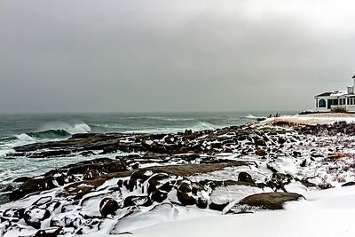 Atlantic Ocean at Cape Neddick York Maine