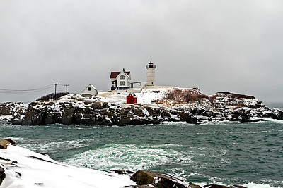Nubble Lighthouse Cape Neddick York, Maine