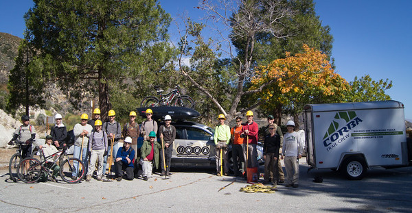 2012-10-21 - IMBA Trail Care Crew Chilao Ride