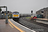 The first passenger carrying non 201 HEP Enterprise service arrives at Drogheda with 9003 leading the 0650 Belfast Central - Dublin Connolly. At the rear of the train was converted MKIII EGV 89604 (old number 7604) which was providing electrical supply to the train. Mon 10.09.12