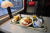 After the 0430 alarm clock call this morning it was nice to settle down into First Plus and enjoy the superb Enterprise Breakfast.  Mon 10.09.12
