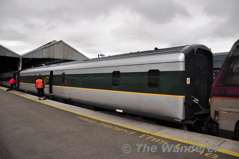 89604 in the formation of the 0650 Belfast Central - Dublin Connolly. Mon 10.09.12