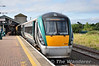 22055 stands in the sun at Limerick Jct. after arriving with the 1000 from Limerick.  Sat 08.09.12