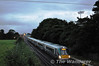 In fading light 22039 departs Kildare with the 1925 Heuston - Limerick. Sun 09.09.12